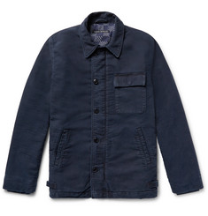 Fabric-Brand & Co Fleece-Back Cotton Deck Jacket