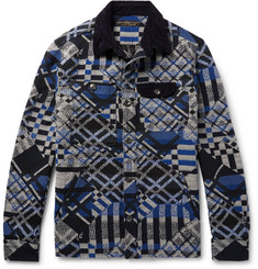 Freemans Sporting Club - Cotton-Blend Jacquard Overshirt