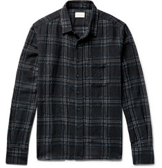 Simon Miller - Checked Wool-Gauze Shirt
