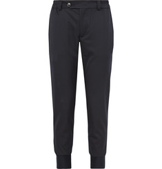 Simon Miller Slim-Fit Tapered Wool and Cotton-Blend Twill Trousers