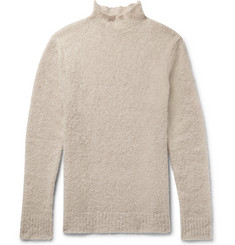 Simon Miller Oversized Mohair and Silk-Blend Bouclé Rollneck Sweater