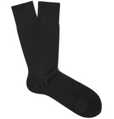 Falke Ribbed Cashmere Socks