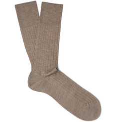 Falke - Ribbed Cashmere Socks