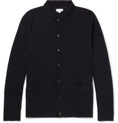 Sunspel Milano Merino Wool Cardigan