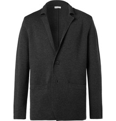 Sunspel Charcoal Milano Merino Wool Blazer