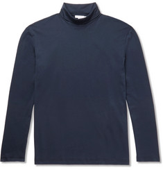 Sunspel Cotton-Jersey Rollneck T-Shirt