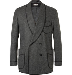 Camoshita Double-Breasted Wool-Blend Blazer