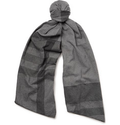 Engineered Garments Checked Cotton-Twill Scarf