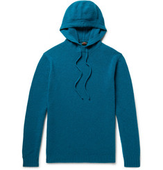 MP Massimo Piombo Merino Wool Hooded Sweater