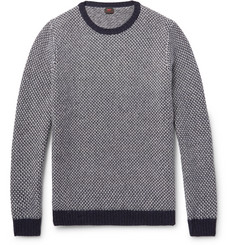 MP Massimo Piombo Birdseye Wool Sweater