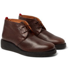 Oliver Spencer - Baxter Leather Chukka Boots