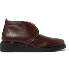 Oliver Spencer Baxter Leather Chukka Boots
