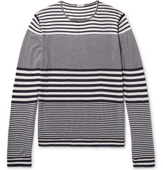 Eidos - Striped Cashmere T-Shirt