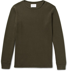 Albam Slim-Fit Waffle-Knit Cotton T-Shirt