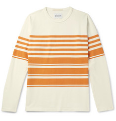 Albam - Striped Cotton-Jersey T-Shirt