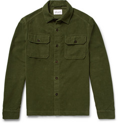 Albam Cotton-Moleskin Overshirt
