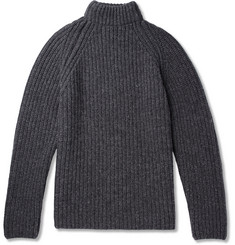 Albam Submariner Ribbed Wool Sweater
