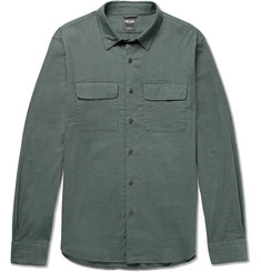 Todd Snyder - Brushed Stretch-Cotton Twill Shirt