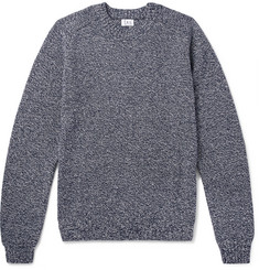 Save Khaki United Ragg Mélange Cotton-Blend Sweater