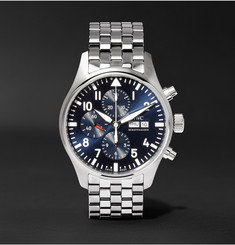 IWC SCHAFFHAUSEN - Pilot's Le Petit Prince Edition Chronograph 43mm Stainless Steel Watch