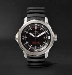 IWC SCHAFFHAUSEN - Aquatimer Automatic 35 Years Ocean 2000 42mm Titanium and Rubber Watch