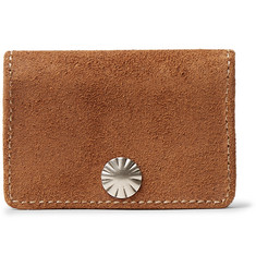 RRL - Stamped Roughout Suede Coin Wallet