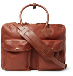 RRL - Leather Holdall