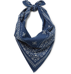 RRL - Printed Cotton Bandana
