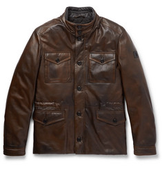 Tod's Leather Field Jacket