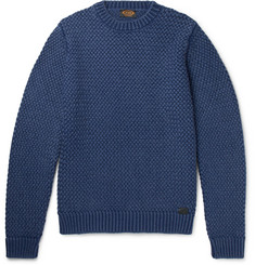 Tod's Basketweave Merino Wool Sweater