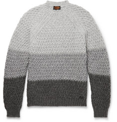 Tod's Colour-Block Alpaca-Blend Sweater