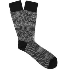 Missoni Two-Tone Cotton-Blend Socks