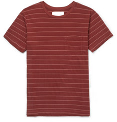 Mollusk Striped Cotton-Jersey T-Shirt