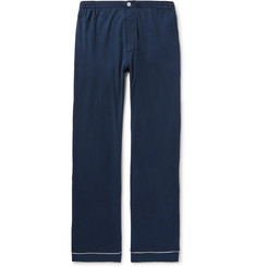Sleepy Jones - Marcel Piped Cotton-Jersey Pyjama Trousers