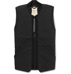Nemen Garment-Dyed Quilted Shell Gilet