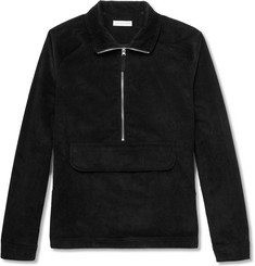 Pop Trading Company Cotton-Corduroy Half-Zip Jacket