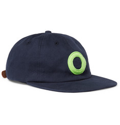 Pop Trading Company - Felt-Appliquéd Cotton-Twill Baseball Cap