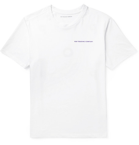 Pop Trading Company PRINTED COTTON-JERSEY T-SHIRT