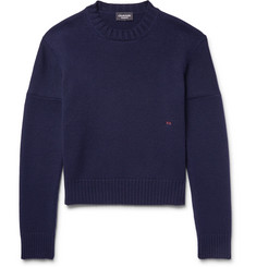 CALVIN KLEIN 205W39NYC Embroidered Cashmere Sweater