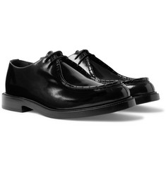 CALVIN KLEIN 205W39NYC Polished-Leather Derby Shoes