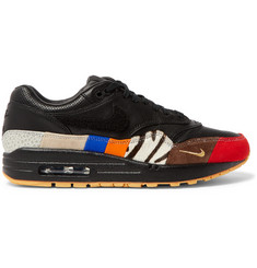 Nike Air Max 1 Master Appliquéd Leather Sneakers