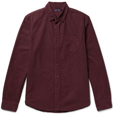 Alex Mill Button-Down Collar Overdyed Cotton Oxford Shirt