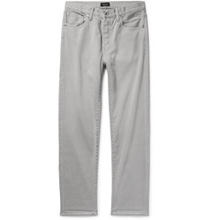 Chimala Textured-Cotton Jeans