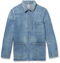 Chimala Distressed Denim Chore Jacket
