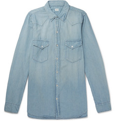 Chimala - Cotton-Chambray Western Shirt