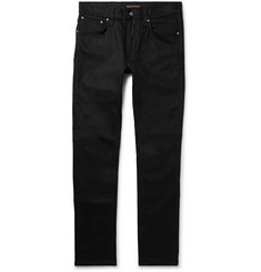 Nudie Jeans - Lean Dean Slim-Fit Organic Stretch-Denim Jeans
