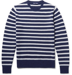 miss striped cashmere sweater