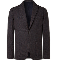 Altea Tod Multi Weave Fabric Blazer