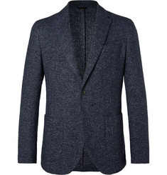 Altea Navy Tito Wool-Blend Blazer