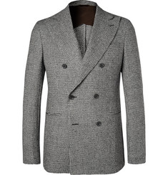 Altea Tim Puppytooth Wool Blazer